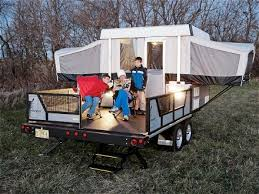 Hardtop Awnings For Trailers Pop Up Camper Trailers For A Deck Campers Do It Yourself