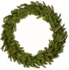 decorations plain pine needles simple christmas wreath ideas 27