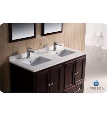 48 In Bathroom Vanity Combo Bathroom The 48 Oxford Double Sink Vanity Espresso Bathgems In