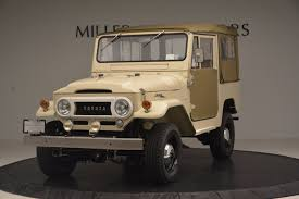 toyota main dealer 1966 toyota fj40 land cruiser land cruiser stock 11123 for sale