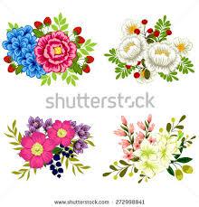 All About Flowers - flower set stock vector 272998841 shutterstock