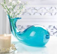 art glass whale vase decorative home decor most popular gift