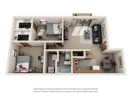 Apartment Unit Floor Plans by Floor Plans Forest Village And Woodlake Student Living