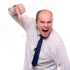 angry manager royalty free stock images image 14641669