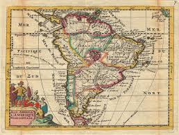 Maps South America by File 1747 La Feuille Map Of South America Geographicus