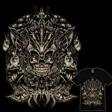 score skull ornament by gupikus on threadless