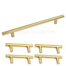 4 inch cabinet handles polished brass gold kitchen cabinet pulls hole centers 160 mm 6 1 4