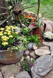 Backyard Decor Pinterest Best 25 Country Garden Decorations Ideas On Pinterest Rustic
