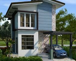narrow modern small house design