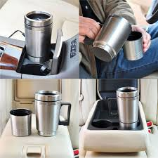 Heated Coffee Mug by Heated Car Stainless Steel Electric Travel Mug With Charger