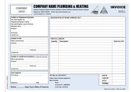 8 services invoice template word plumbing sample professional