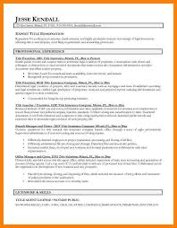 Resume Title Samples by 7 Resume Title Samples Authorized Letter