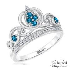 cinderella engagement ring enchanted disney cinderella and created blue sapphire