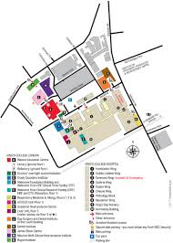 Bates College Map Denmark Hill Campus