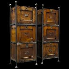 Vintage Industrial File Cabinet Very Industrial Chic Loving It Brick Wall Metal Cabinet