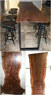 Reclaimed Wood Bar Table 40 Beautiful And Eco Friendly Reclaimed Wood Projects That Will