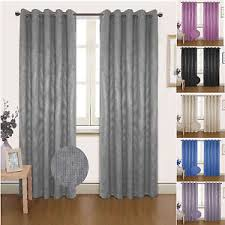 Seville Curtains Seville Dimout Blackout Eyelet Ready Made Thermal Summer Curtains
