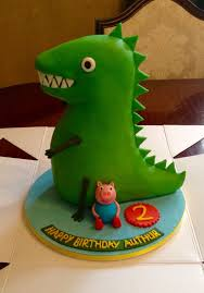 George Pig Cake Decorations Best 25 Peppa Pig Dinosaur Ideas On Pinterest Peppa Pig