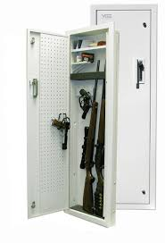in wall gun cabinet in wall gun cabinet mirror best cabinets decoration