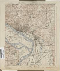 Map Of St Louis Area Missouri Historical Topographic Maps Perry Castañeda Map