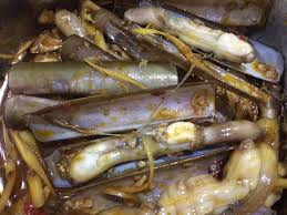 ot central cuisine oc mong tay xao sa ot or grilled nail snail with lemon grass and