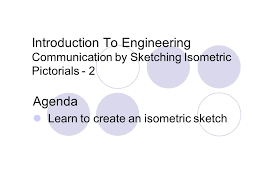 agenda learn to create an isometric sketch ppt download