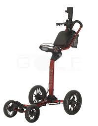 cadie golf quattro 4 wheel push cart discount golf world