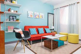 in the livingroom rl makeovers a colorful look for a plain living room rl