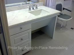 accessible sinks aging in place remodeling