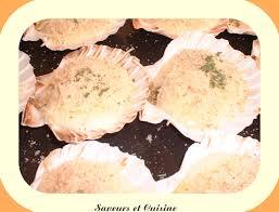 comment cuisiner les coquilles st jacques surgel馥s recette land recette de coquilles jacques à la boulonnaise