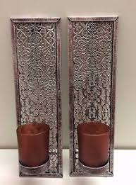 Metal Wall Sconces Candle Wall Sconces Ebay