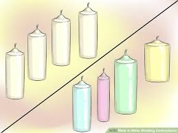 Candle Centerpiece Wedding 3 Ways To Make Wedding Centerpieces Wikihow