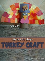 thanksgiving turkey craft preschool play