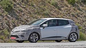 clio renault 2017 renault clio spied preparing for paris bound facelift