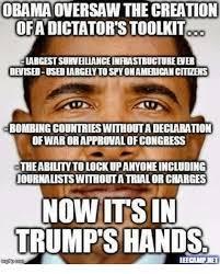 Creation Meme - obama oversaw the creation ofadictatorstoolkit largest