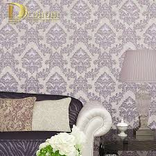 Simple European Living Room Design by Damask Wallpaper Picture More Detailed Picture About Simple