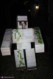 Minecraft Costume Halloween Iron Golem Costume