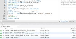 T Sql Drop Table If Exists Mysql You Have An Error In Your Sql Syntax Creating A Trigger