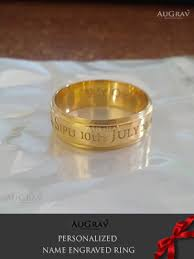 how to engrave a ring name ring gallery augrav personalized platinum gold