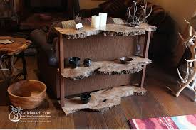 burl wood dining room table in stock and for sale littlebranch farm rustic log furniture