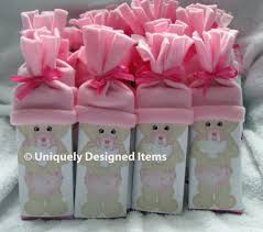 unique baby shower favors pink unique baby shower favors simple decoration ideas motive boxes