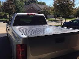 homemade 4x4 truck my homemade diamond plate tonneau cover chevy truck forum gmc