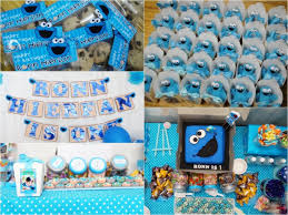 cookie monster table decorations cookie monster party theme new decoration cookie monster