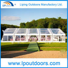 Transparent Tent China Large Event Tent With Clear Top Banquet Tent Transparent