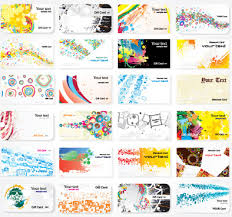 Free Graphics For Business Cards Abstract Backgrounds For Business Cards Design Vector Free Vector