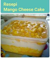 Kek Mango ramai yg minta resepi mango cheese ketuk ketuk ramadan