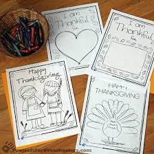 thanksgiving coloring pages printables projects preschoolers