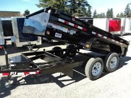 2018 pj trailers 7x14 14k low pro dump trailer trailer traders