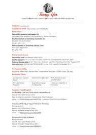 Concept Artist Resume Resume U2014 Tianyi Yin U0027s Art Work