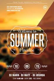 welcome brochure template free summer flyer template xtremeflyers
